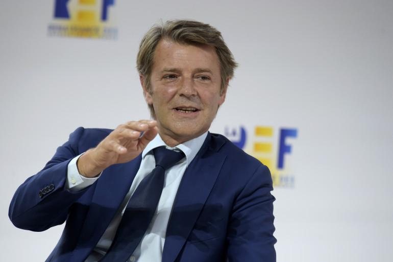 Le président de l'Association des maires de France (AMF) François Baroin le 27 août 2020 à Paris