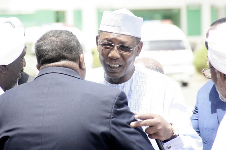 Le président tchadien Idriss Deby Itno, en juin 2015