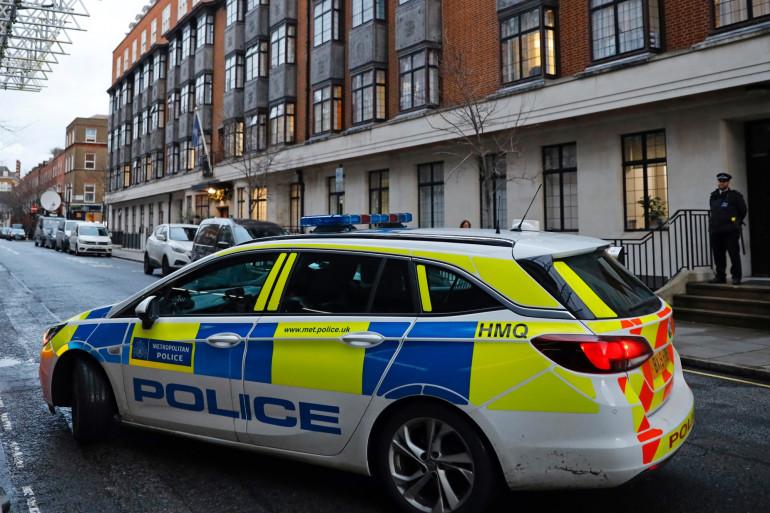 Une voiture de police au Royaume-Uni (illustration)