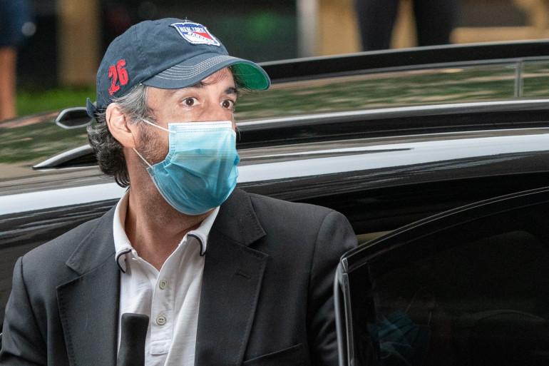 Michael Cohen, l'ancien avocat de Donald Trump, à New York, en juillet 2020