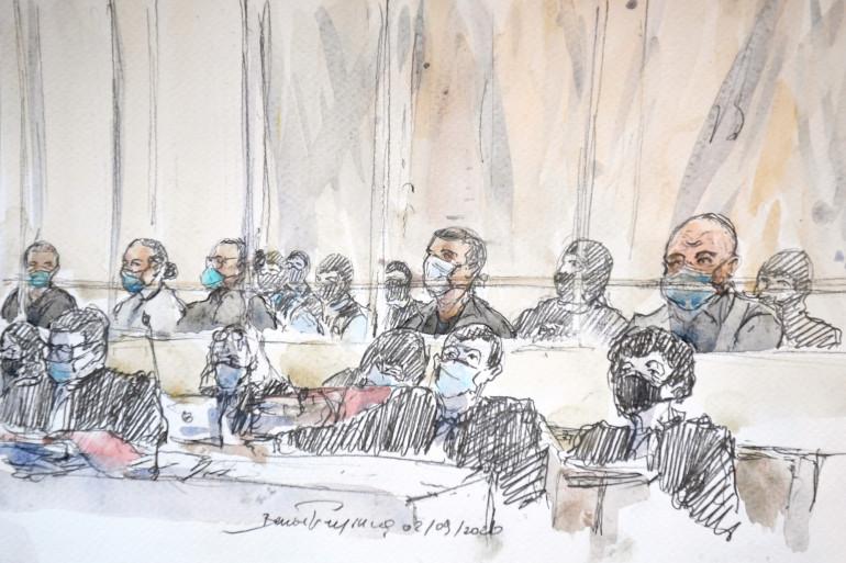 Le procès des attentats de janvier 2015 se tient au palais de justice de Paris (illustration)
