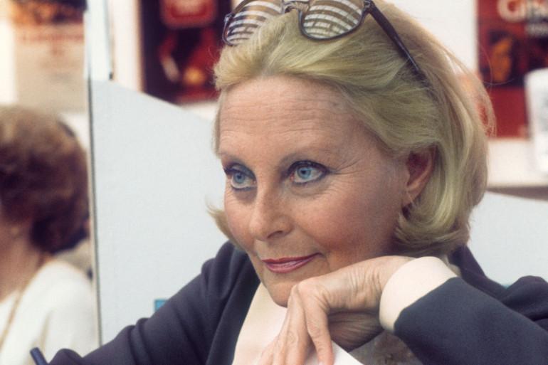 La comédienne française Michèle Morgan
