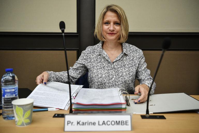Karine Lacombe auditionnée par l'Assemblée nationale le 25 juin.