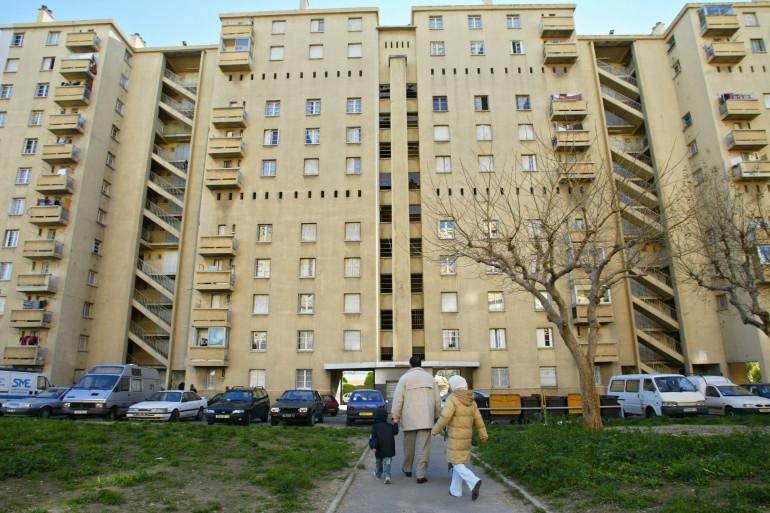 La cité des Rosiers dans le 14e arrondissement de Marseille, où s'est déroulé le drame.