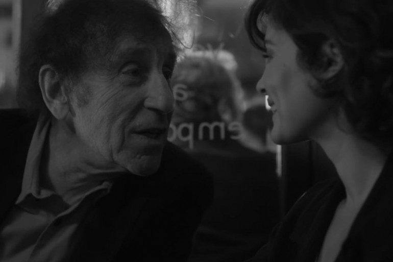 """Souchon et Audrey Tautou dans le clip """"Ouvert la nuit"""""""