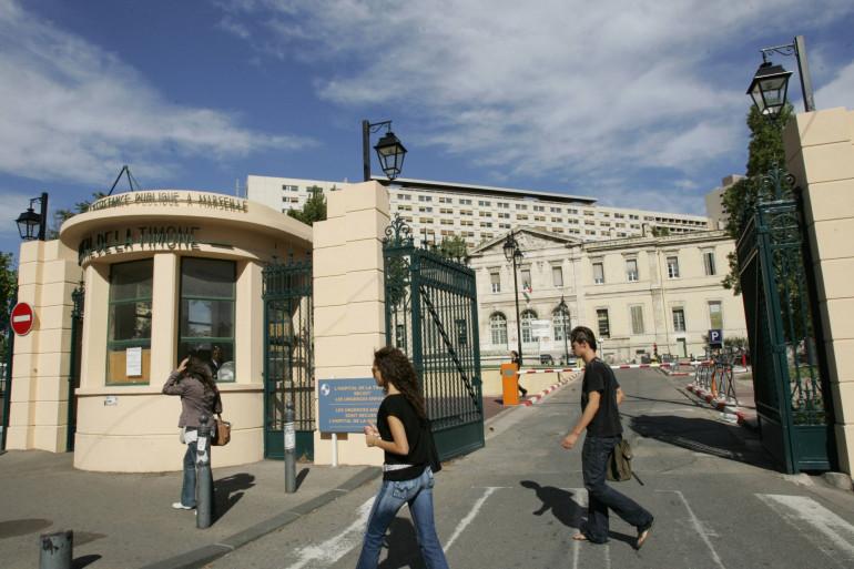L'hôpital de La Timone à Marseille (illustration)