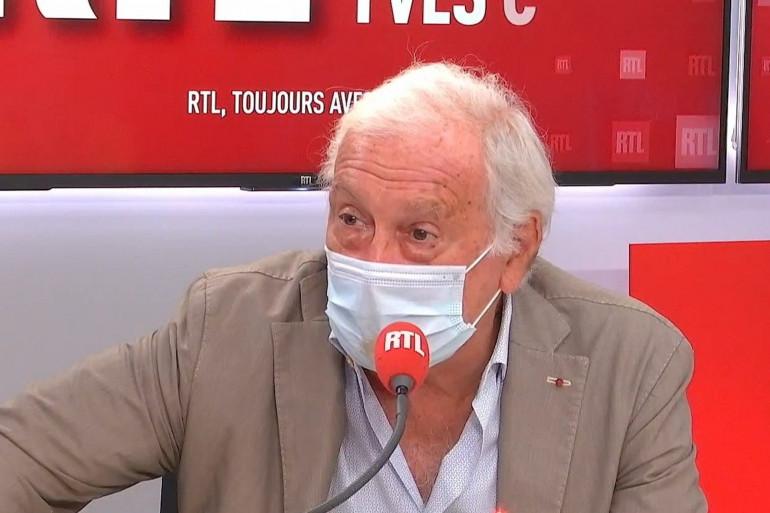 Le professeur Delfraissy, président du conseil scientifique, invité de RTL ce jeudi 10 septembre.