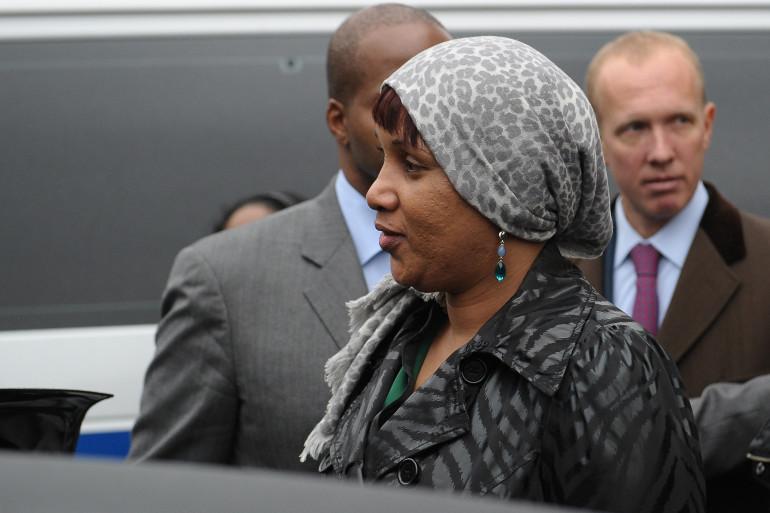 Nafissatou Diallo en 2012 à New York