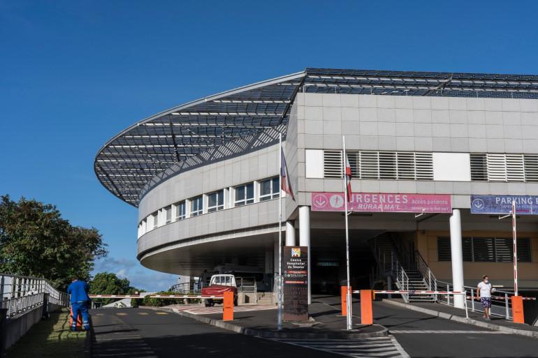 Un centre hospitalier à Papeete, en Polynésie française