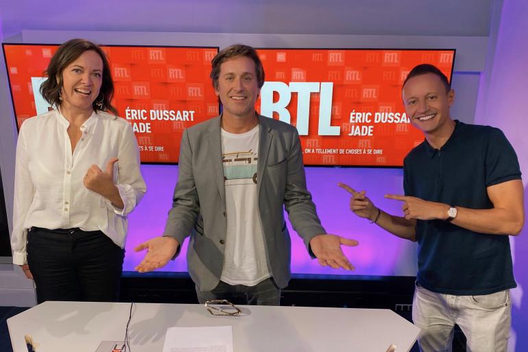 Jade, Thomas Dutronc et Eric Dussart