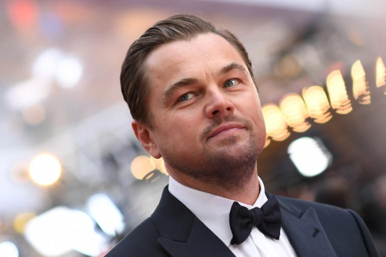 Leonardo Di Caprio à Hollywood, en février 2020