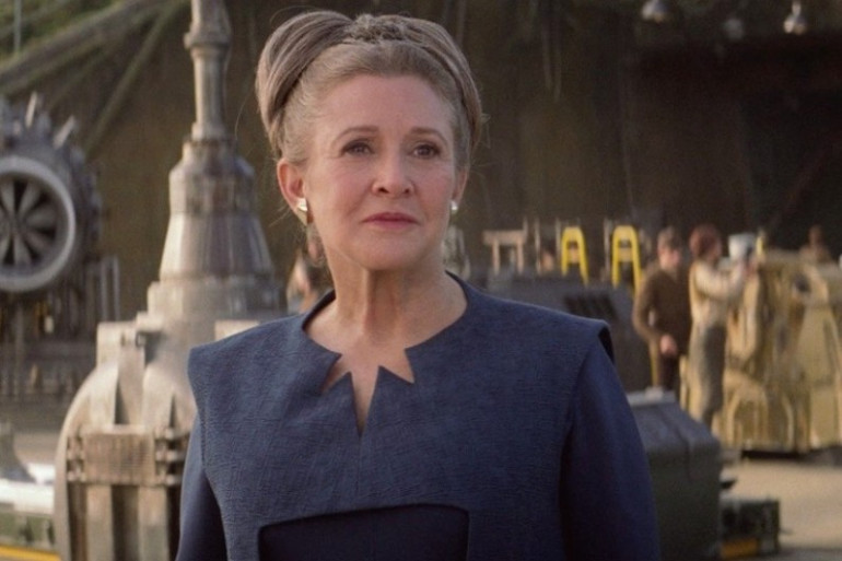 """Carrie Fisher dans """"Star Was 7"""""""