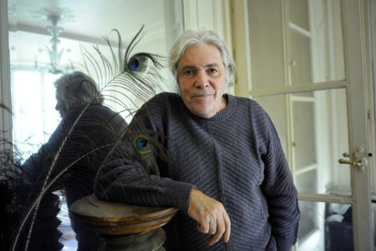 Pierre Barouh chez lui en 2008