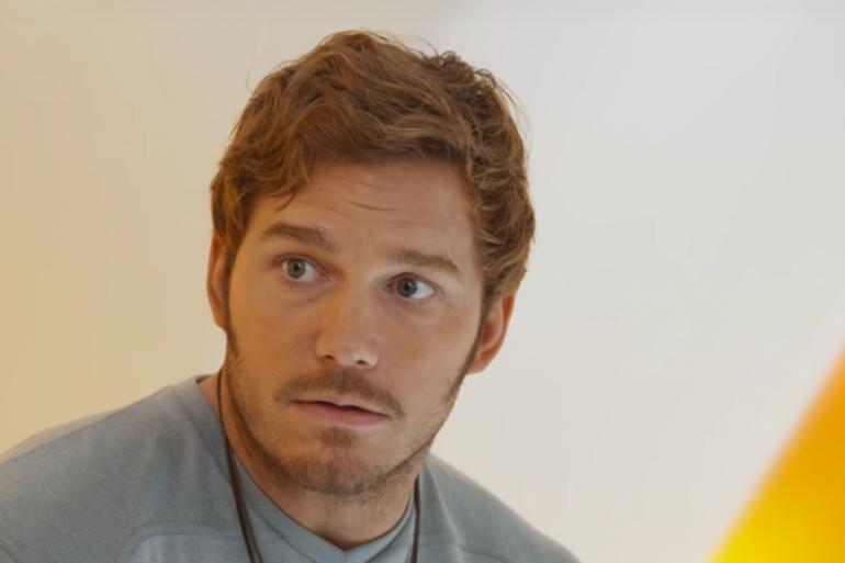 Chris Pratt dans le rôle de Peter Quill
