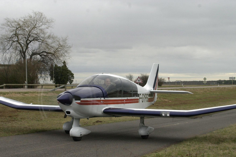 L'avion était un Robin DR 400 (illsutration)