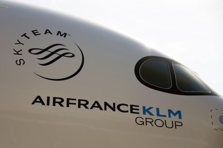 Un Airbus A350 du groupe Air France-KLM (illustration)