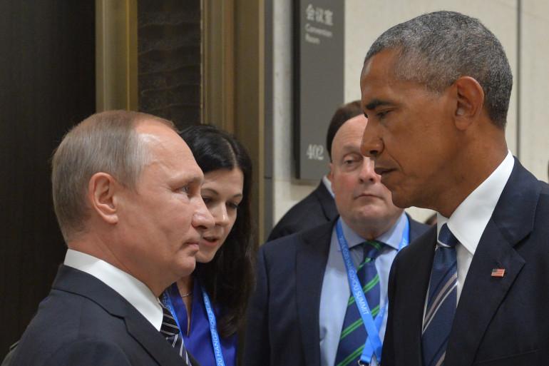 Vladimir Poutine et Barack Obama au sommet du G20 en septembre 2016.