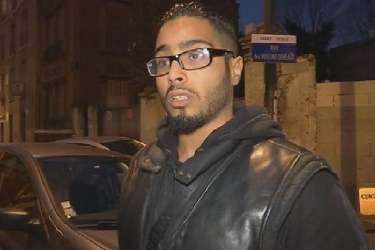 Jawad Bendaoud, soupçonné d'avoir prêté son appartement de Saint-Denis aux terroristes
