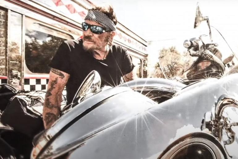 """Johnny Hallyday dans le teaser de """"Johnny Hallyday - Son rêve américain"""""""