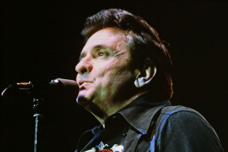 Johnny Cash en concert en Finlande