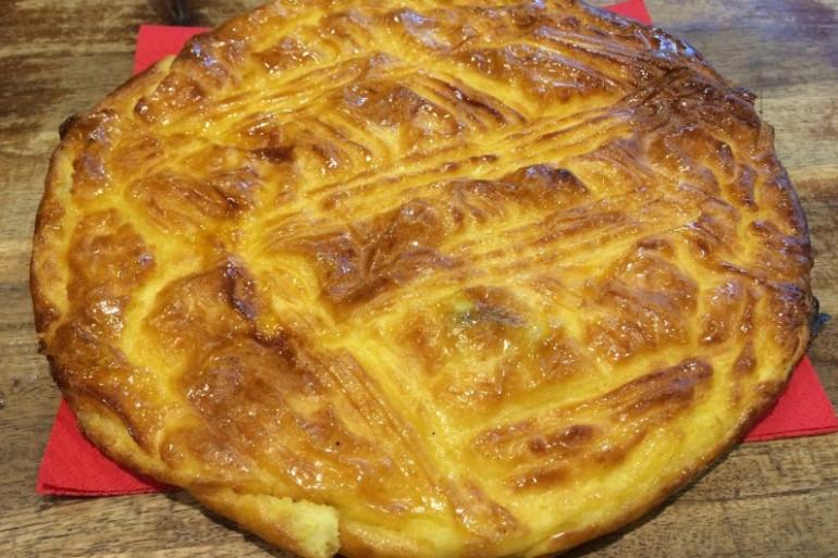 """Une galette bisontine de la boulangerie """"La Mie Des Amis"""""""