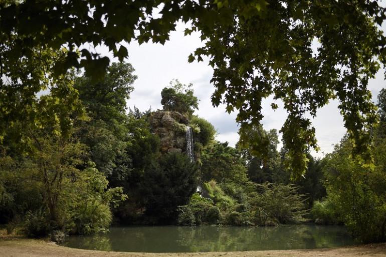 Le parc de Bagatelle dans le Bois de Boulogne, à Paris