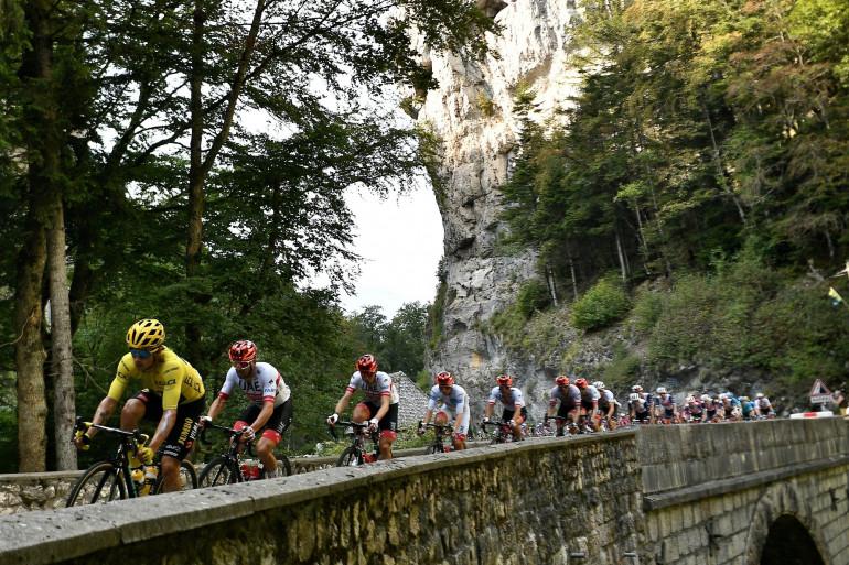 Le peloton du Tour de France le 15 septembre 2019