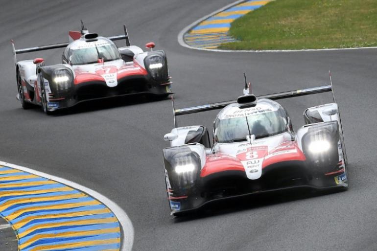 Les Toyota au Mans