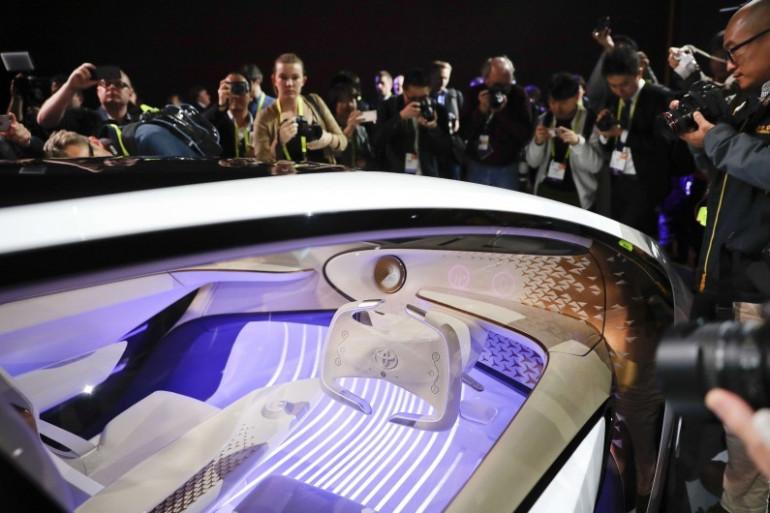 La Toyota Concept-i dévoilée lors du CES 2017