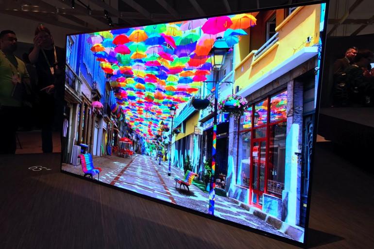 Sony lance sa première série de téléviseurs OLED