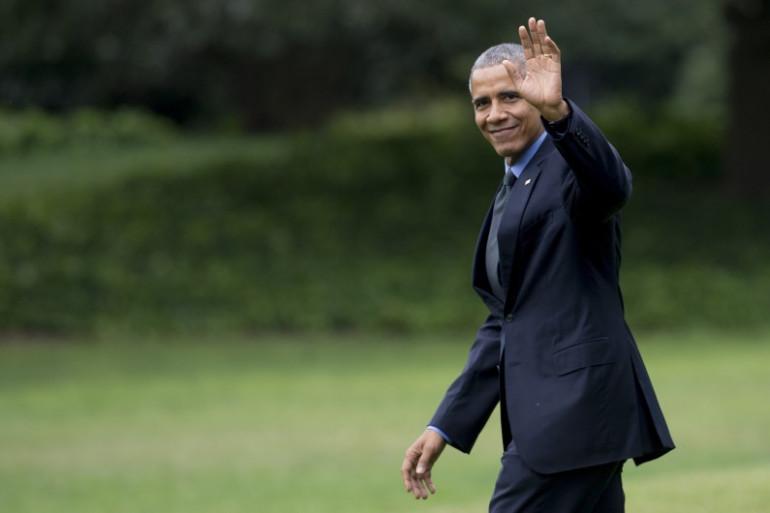 Barack Obama en octobre 2017