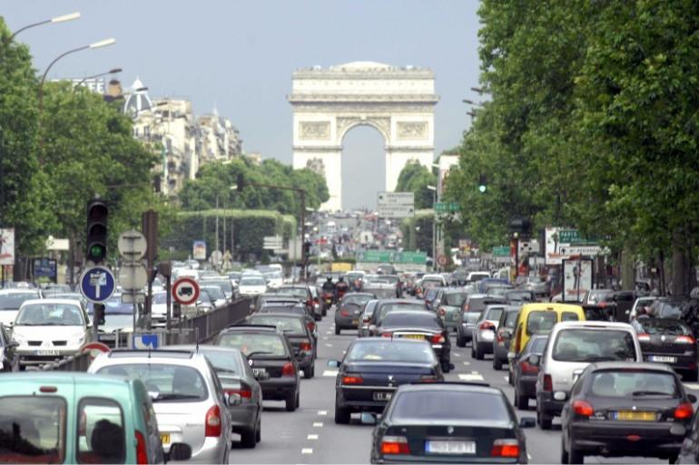 Circulation, trafic et embouteillage à Neuilly-sur-Seine