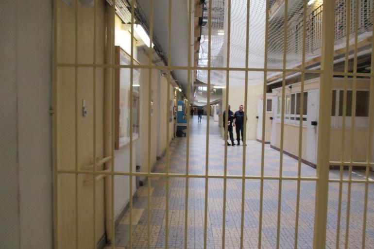 Un couloir de prison (image d'illustration)