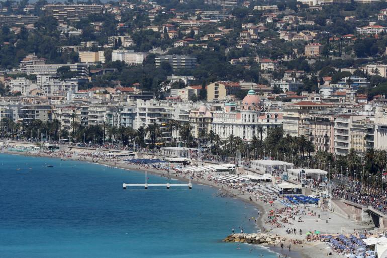 Une vue sur la ville de Nice (illustration)