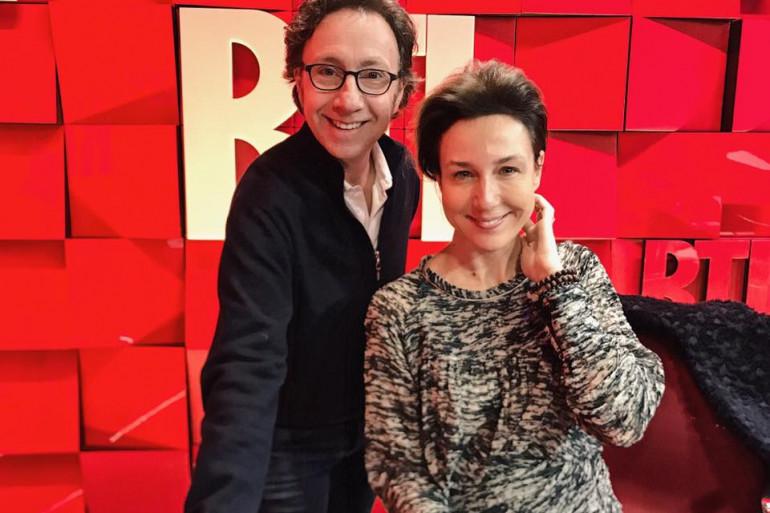 Elsa Zylberstein et Stéphane Bern