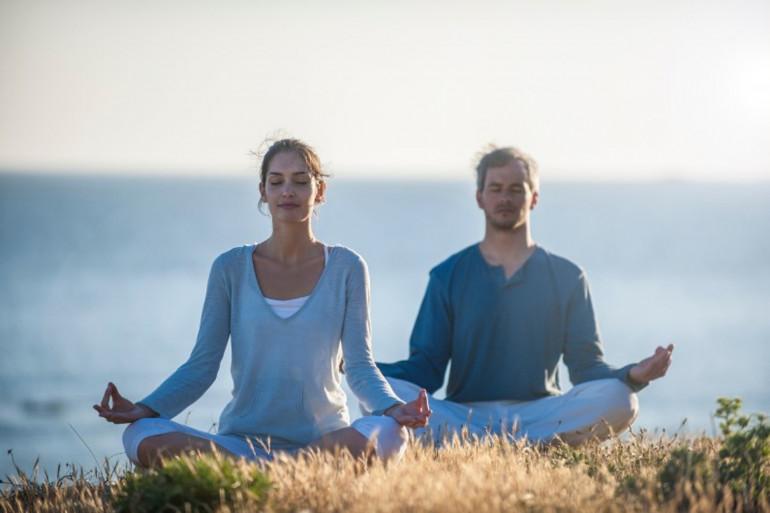 Les bienfaits du silence et de la méditation (photo d'illustration).