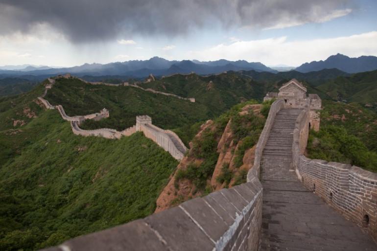 La Grande Muraille de Chine est endommagée par les pilleurs