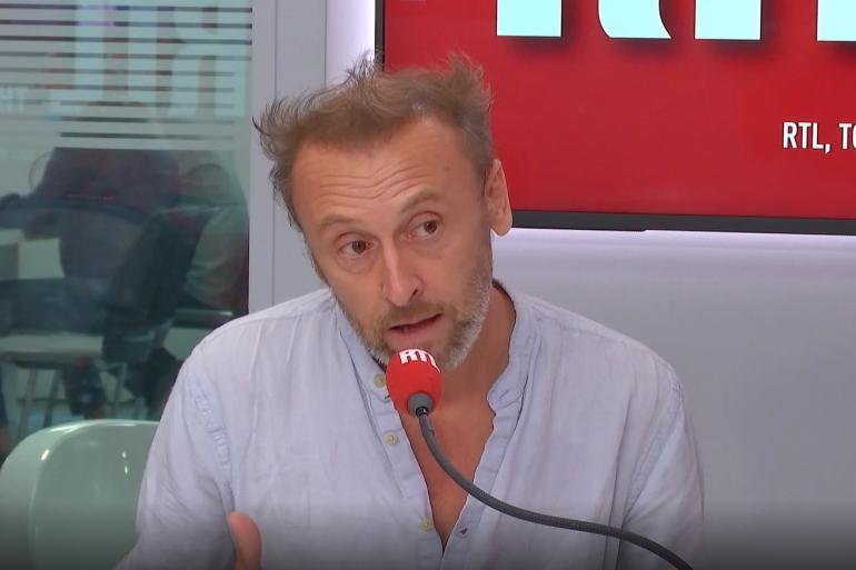 Pierre Souchon dans RTL Soir, le 21 septembre 2020.