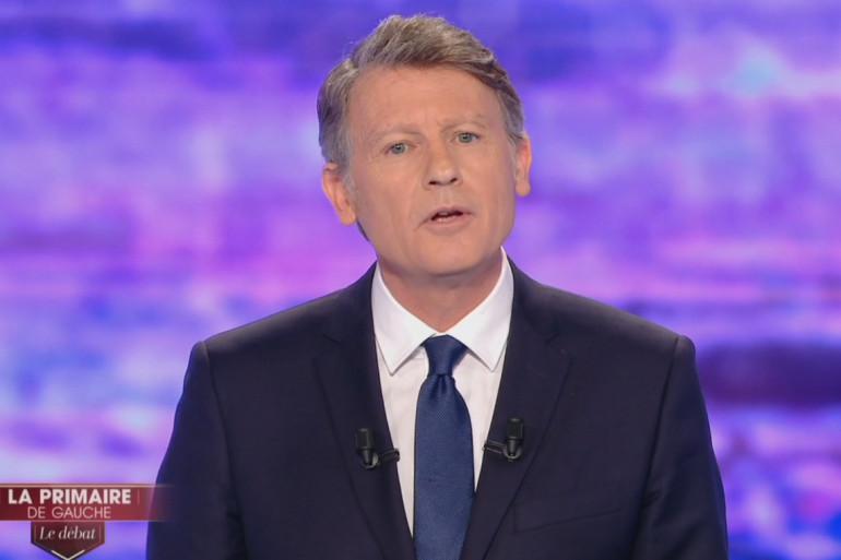 Vincent Peillon lors du premier débat de la primaire de la gauche, le 12 janvier 2017