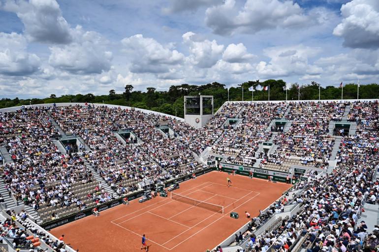 Le court Suzanne-Lenglen de Roland-Garros le 29 mai 2019