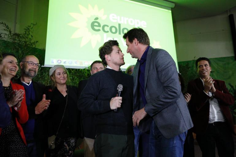 Julien Bayou et Yannick Jadot, le 30 novembre 2019