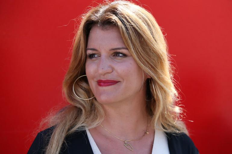 Marlène Schiappa, ministre déléguée à la Citoyenneté, le 11 août 2020 en Corse