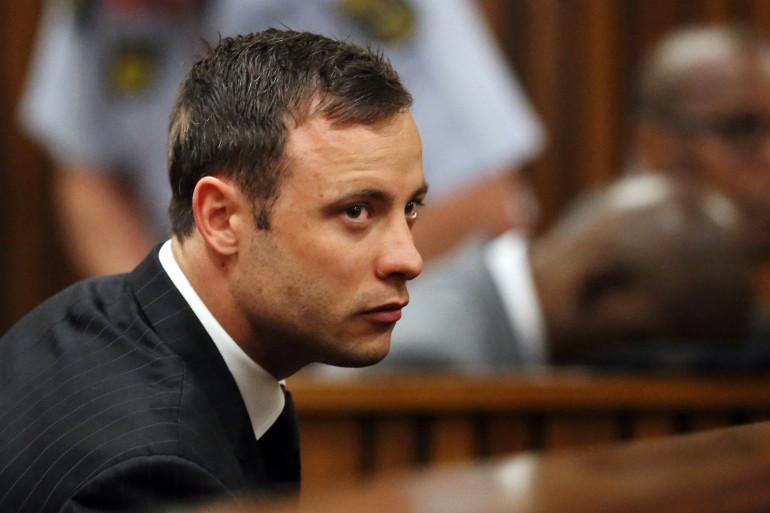 Oscar Pistorius à l'énonciation de son verdict le 12 septembre 2014.