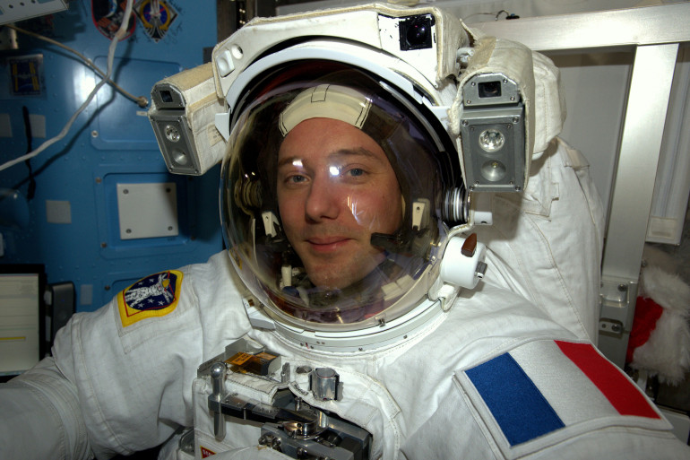 Thomas Pesquet se trouve dans la Station spatiale internationale depuis le 20 novembre 2016