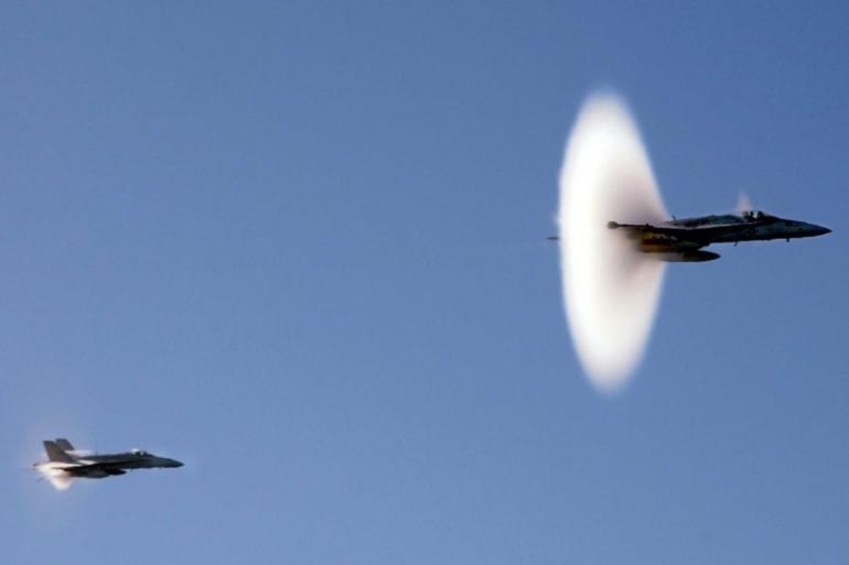 Un avion de chasse a franchi le mur du son, vendredi 13 janvier à Marseille (image d'illustration)