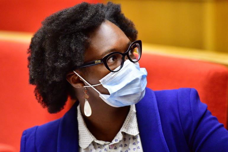 Sibeth Ndiaye auditionnée par la commission d'enquête du Sénat le 23 septembre 2020.