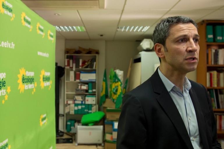 Christophe Najdovski, maire-adjoint (EELV) de Paris en charge des transports et de l'espace public