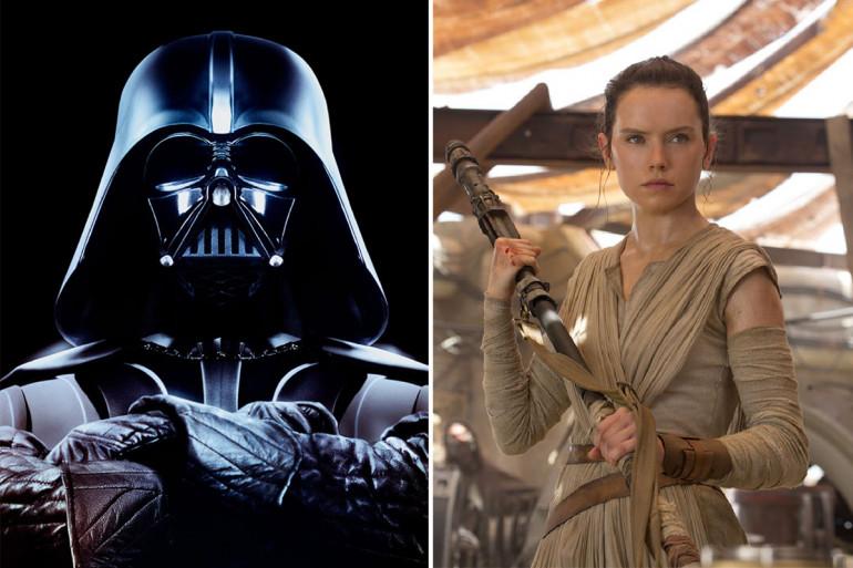 Rey aurait un puissant lien avec Dark Vador