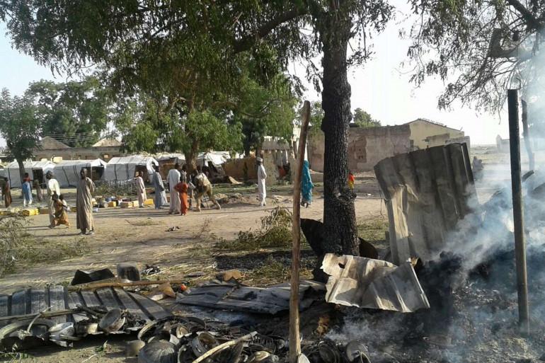 Bombardement d'un camp de déplacés au Nigéria
