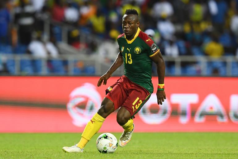 Jacques Zoua sous les couleurs du Cameroun le 14 janvier 2017